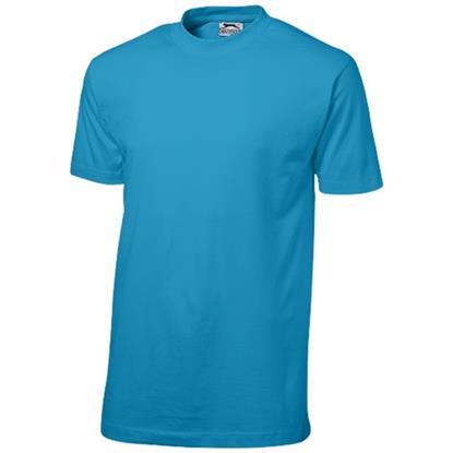 T-shirt Ace med tryck blå