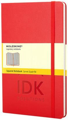 Bild på Moleskine Classic PK av inbunden anteckningsbok – rutat
