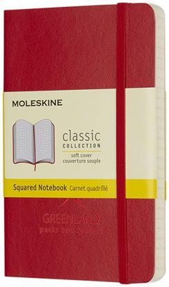 Bild på Moleskine Classic PK av anteckningsbok med mjukt omslag – rutat