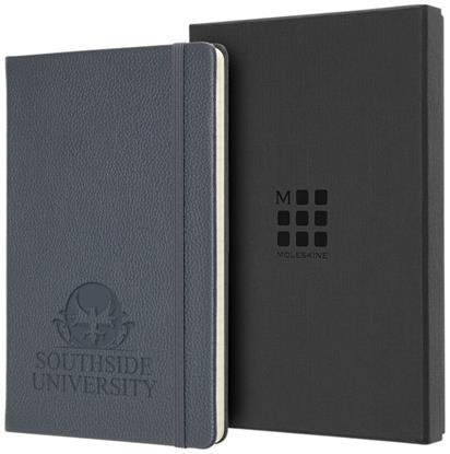 Bild på Moleskine Classic L linjerad anteckningsbok i läder