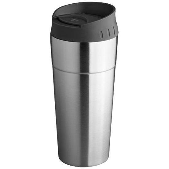 Zissou mugg med tryck Silver