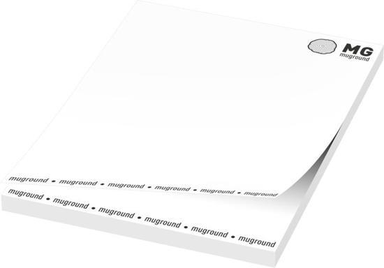 Notisblock Budget Sticky-Mate® A7 med tryck Vit