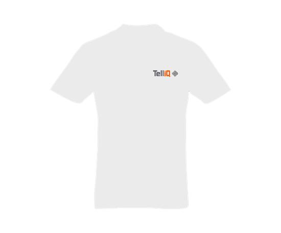 Helios Piké med snabb leverans - TelliQ med tryck Vit