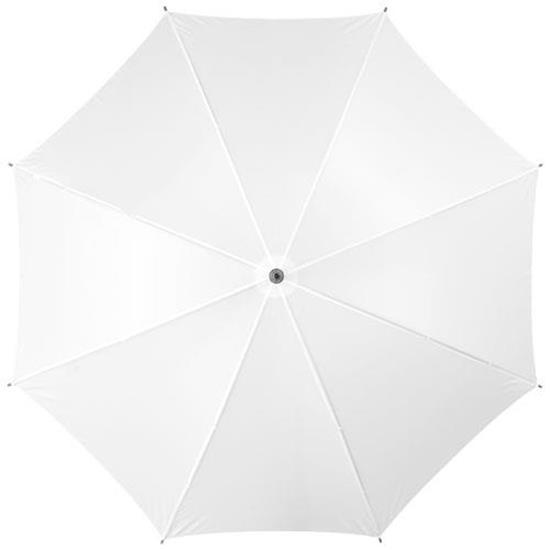 """23"""" klassiskt paraply Jova - TelliQ med tryck Vit"""