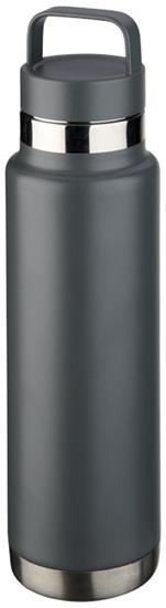 Isolerad vattenflaska Colton 600ml med tryck Grå