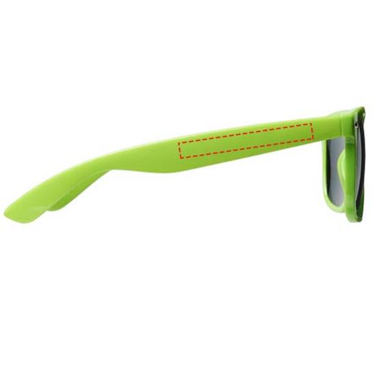 Solglasögon Sun Ray Barn med tryck Limegrön