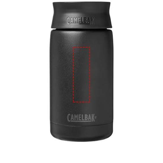 Termosmugg Hot Cap Camelbak 350 ml med tryck Svart