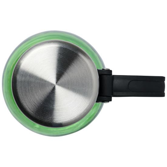 Vattenflaska Darya 800 ml med tryck Limegrön