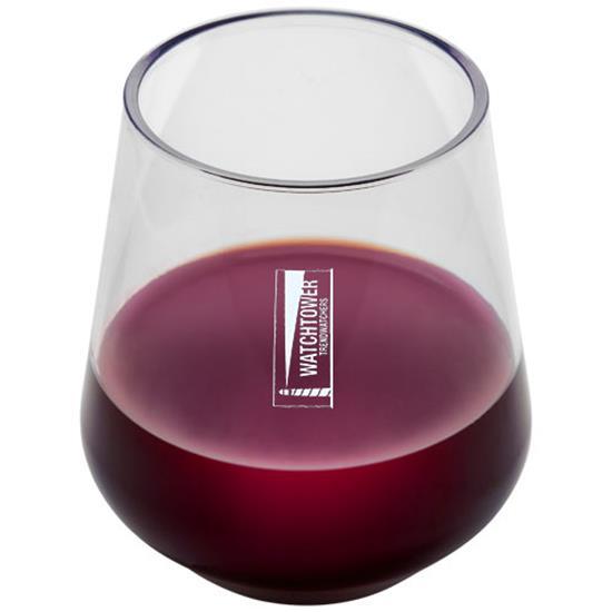 Glas Neva 400 ml Tritan™ med tryck Vit