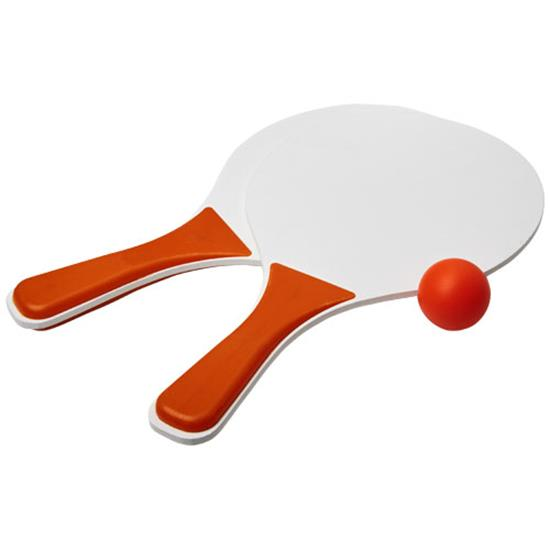 Strandtennisset Bounce med tryck Orange