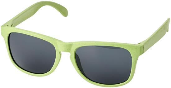 Solglasögon Rongo ECO halmfiber med tryck Grön