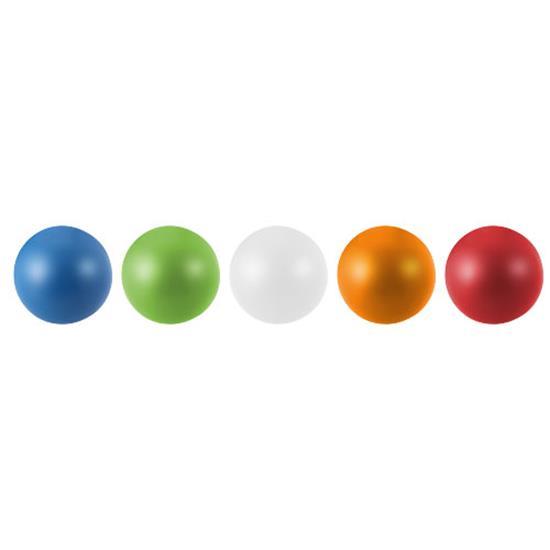 Stress Ball: Black med tryck Svart