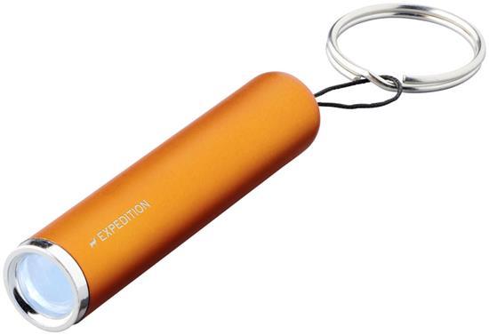 Nyckelring Pull med ficklampa med tryck Orange