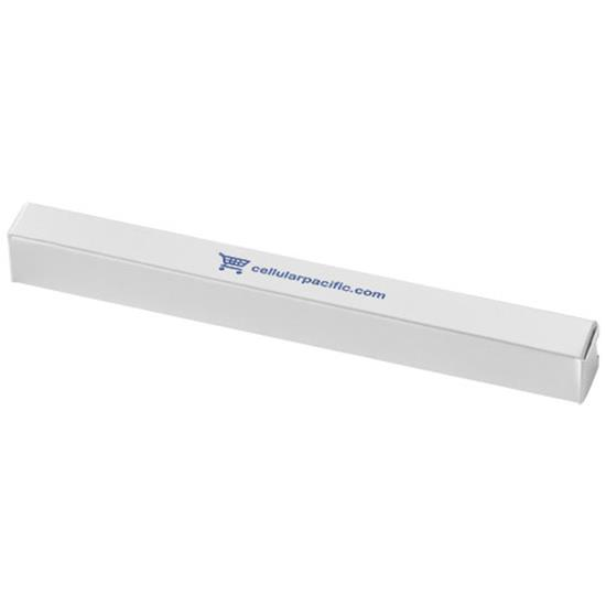 Farkle pennask med tryck Vit