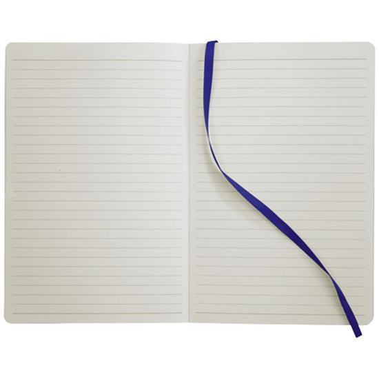 Anteckningsbok Klassisk Soft A5 med tryck Kungsblå