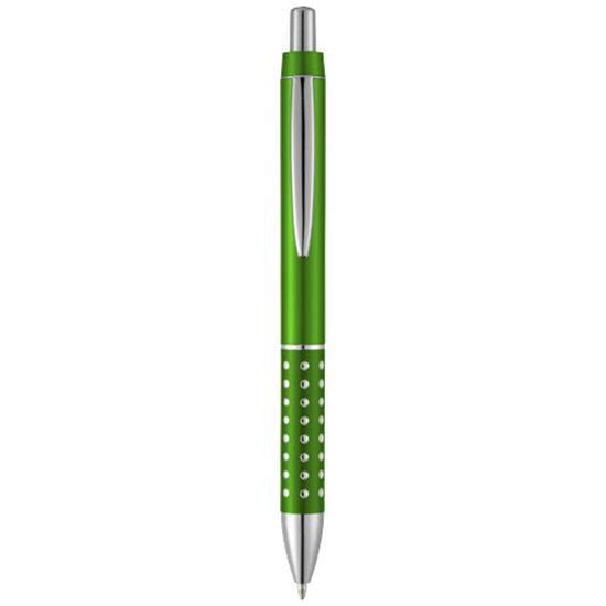 Penna Ellie, blått bläck med tryck Grön
