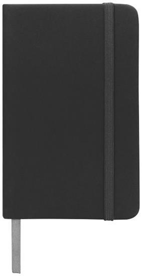 Anteckningsbok Spectrum A5 prickade sidor med tryck Svart