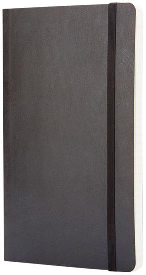 Moleskine Classic PK av anteckningsbok med mjukt omslag – linjerad med tryck Svart