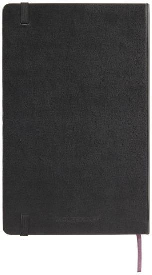 Moleskine Classic PK av inbunden anteckningsbok – prickad med tryck Svart