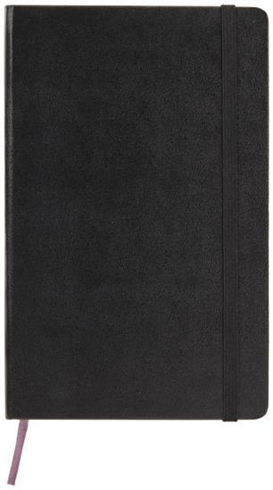 Moleskine Classic PK av inbunden anteckningsbok – blankt papper med tryck Svart