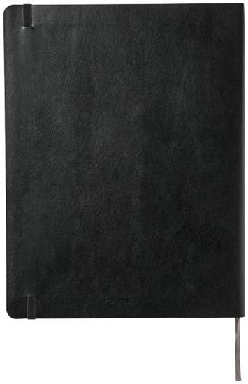 Classic XL av anteckningsbok med mjukt omslag – rutat med tryck Svart