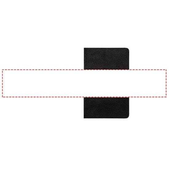 Moleskine Volant Journal PK – blankt papper med tryck Svart