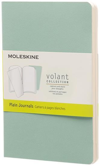 Volant dagbok PK – blankt papper med tryck Grön