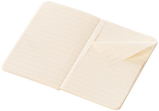 Volant dagbok XS – linjerad med tryck Svart