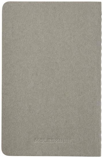 Moleskine Cahier Journal PK – blankt papper med tryck Grå