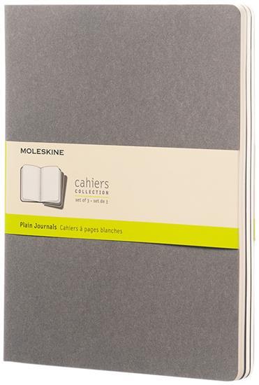 Cahier dagbok XL – blankt papper med tryck