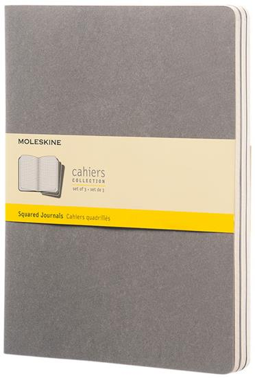Cahier dagbok XL – rutat med tryck