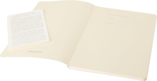 Moleskine Volant Journal PK – linjerad med tryck Svart