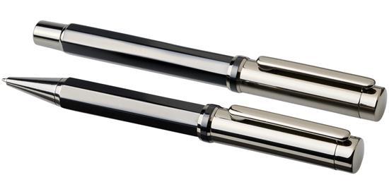 Duo-penna i presentset Orleans med tryck Svart