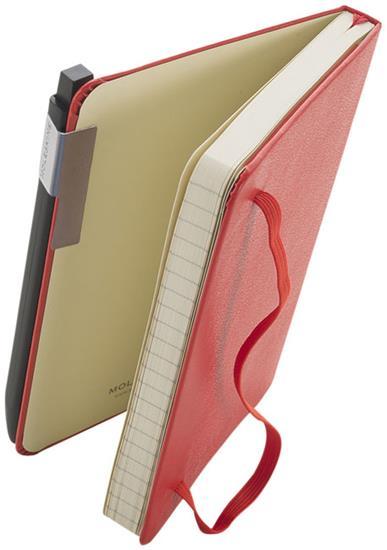 Klickpenna Klassisk Moleskine 0,7 med tryck Svart