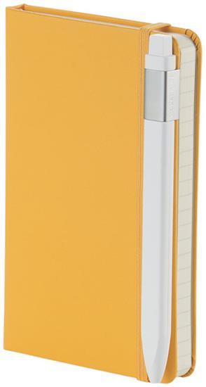 Klassisk klickpenna 0,7 med tryck Vit