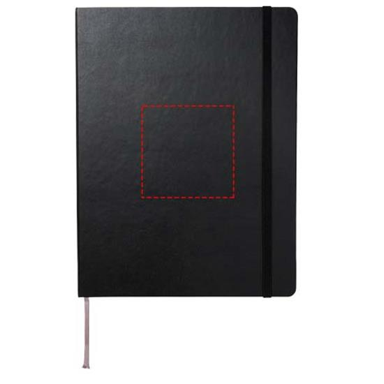 Moleskine Pro inbunden anteckningsbok XL med tryck Svart