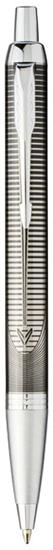 Kulspetspenna Parker IM Luxe  - specialutgåva med tryck Ljusgrå