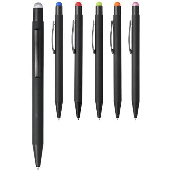 Penna Dax stylus med tryck Svart/Orange