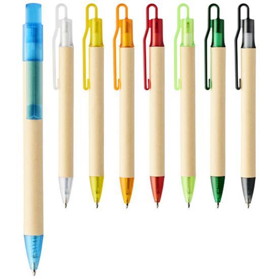 Penna Safi papper, blått bläck med tryck Mörkgrön