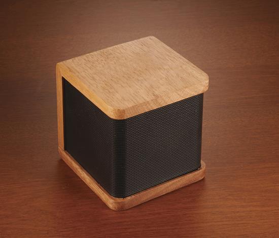 Högtalare Seneca Trä 3W Bluetooth® med tryck Brons