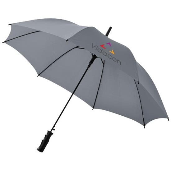 "23"" paraply Barry med tryck Grå"