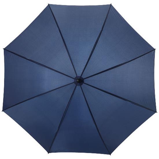 "30"" golfparaply Zeke med tryck Marinblå"