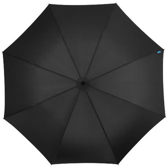 "30"" paraply Halo med tryck Svart"