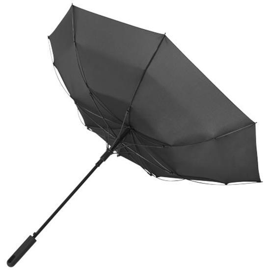 """23"""" stormparaply Noon  med tryck Svart"""