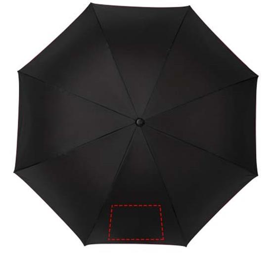 "23"" stormparaply Yoon med tryck Röd"