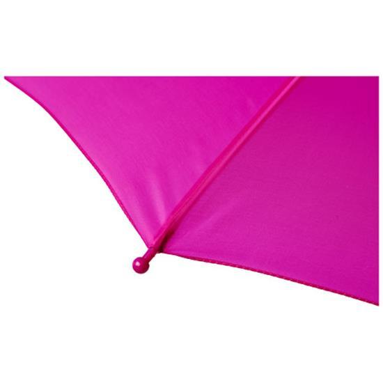 """17"""" stormparaply Nina för barn med tryck Lila"""
