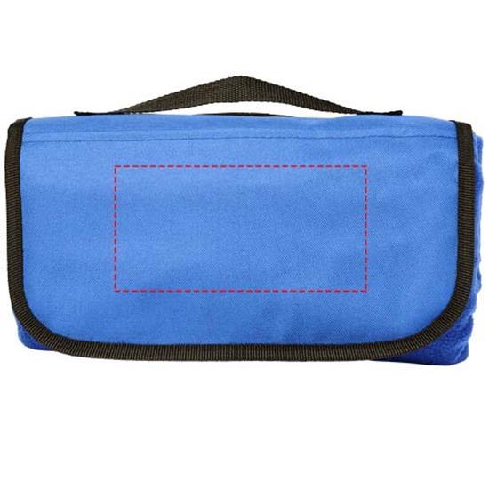 Picknickfilt Meadow med tryck Marinblå