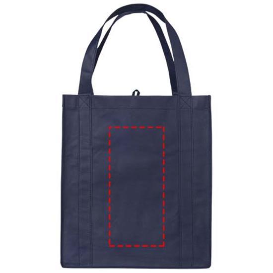 Shoppingkasse Liberty Non-Woven med tryck Marinblå