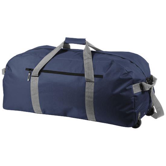 Resväska Vancouver med tryck Marinblå