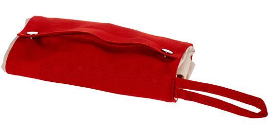 Tygpåse Snap ihopvikbar 180 g/m² med tryck Röd